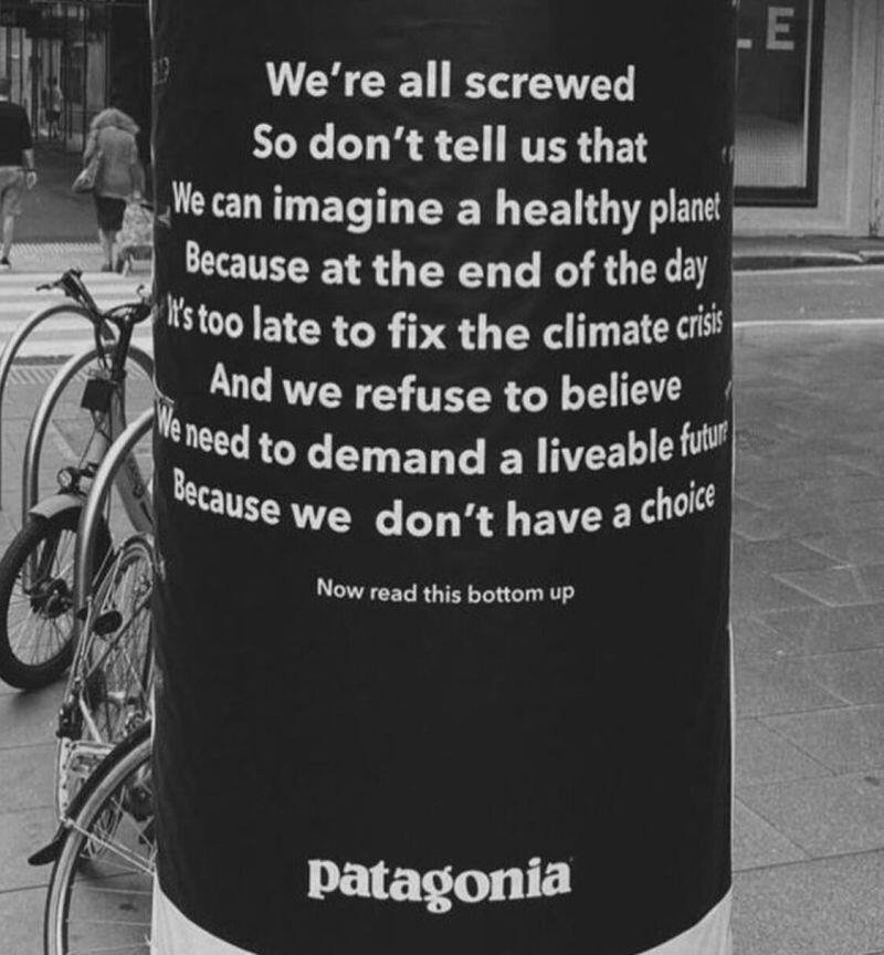 Patagonia's purpose