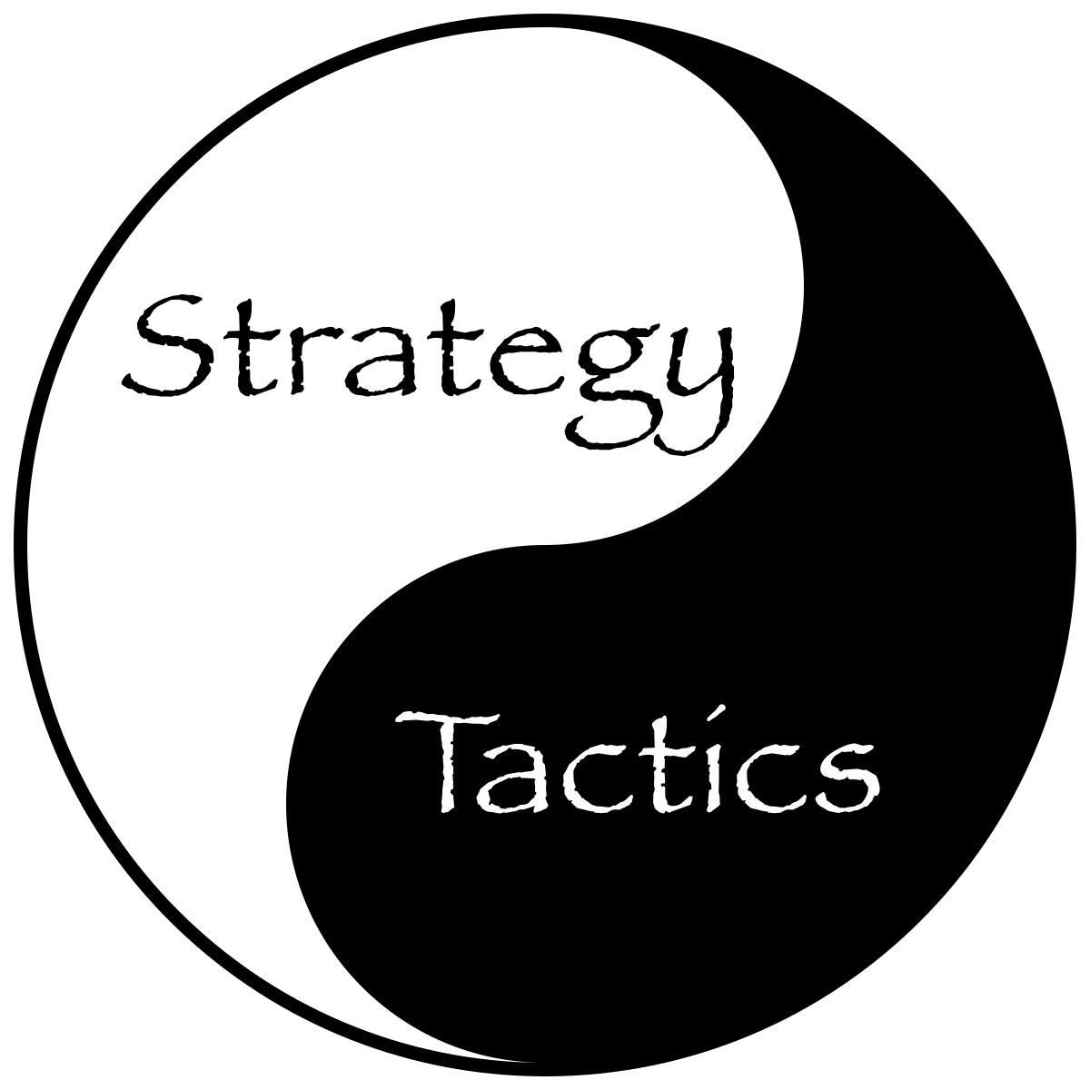 marketin strategy vs tactics BNBranding