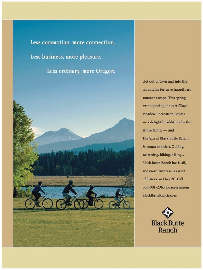 Tourism industry branding from Bend, Oregon Advertising Agency BN Branding