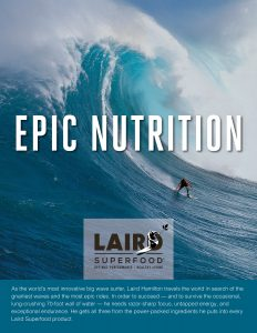 Branding firm advertising agency client Laird Superfood