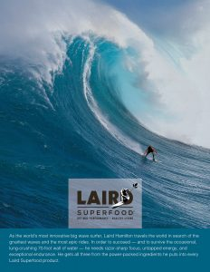 Branding firm client Laird Superfood