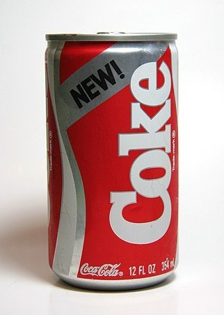 New Coke marketing failure