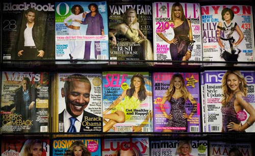 magazine covers can help design a better homepage for your website bnbranding