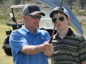 golf industry marketing experts - client Andy Heinly