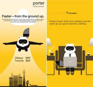 Porter airlines branding case study airline industry marketing