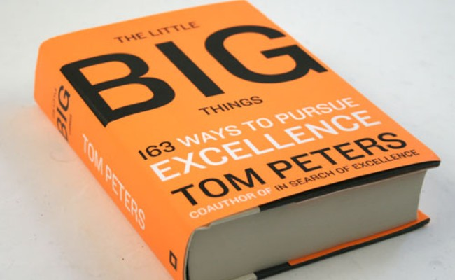 Brand design advice Tom Peters